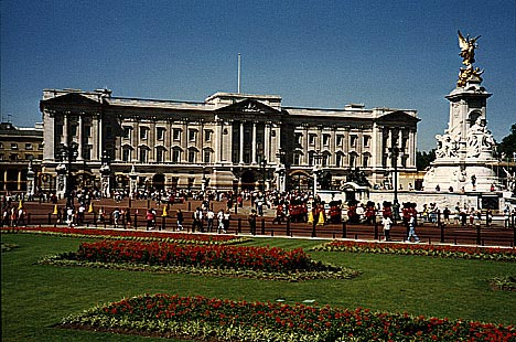 Londýn - Buckingham Palace -