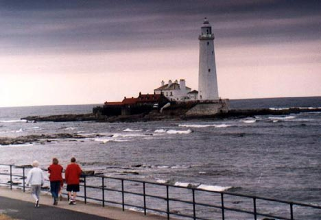Lighthouse - Maják St. Mary´s pri Whitley Bay - 5