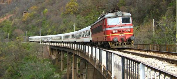 vlak v Bulharsku